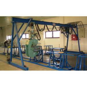 Výrobní technologie na dřevěné tesařské konstrukce