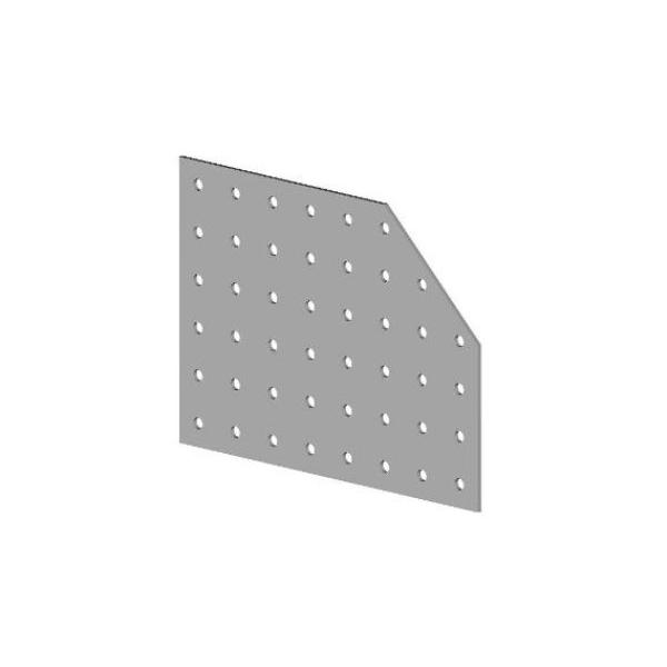 Deska spojovací zkosená 1x BV/DSZ 03-02